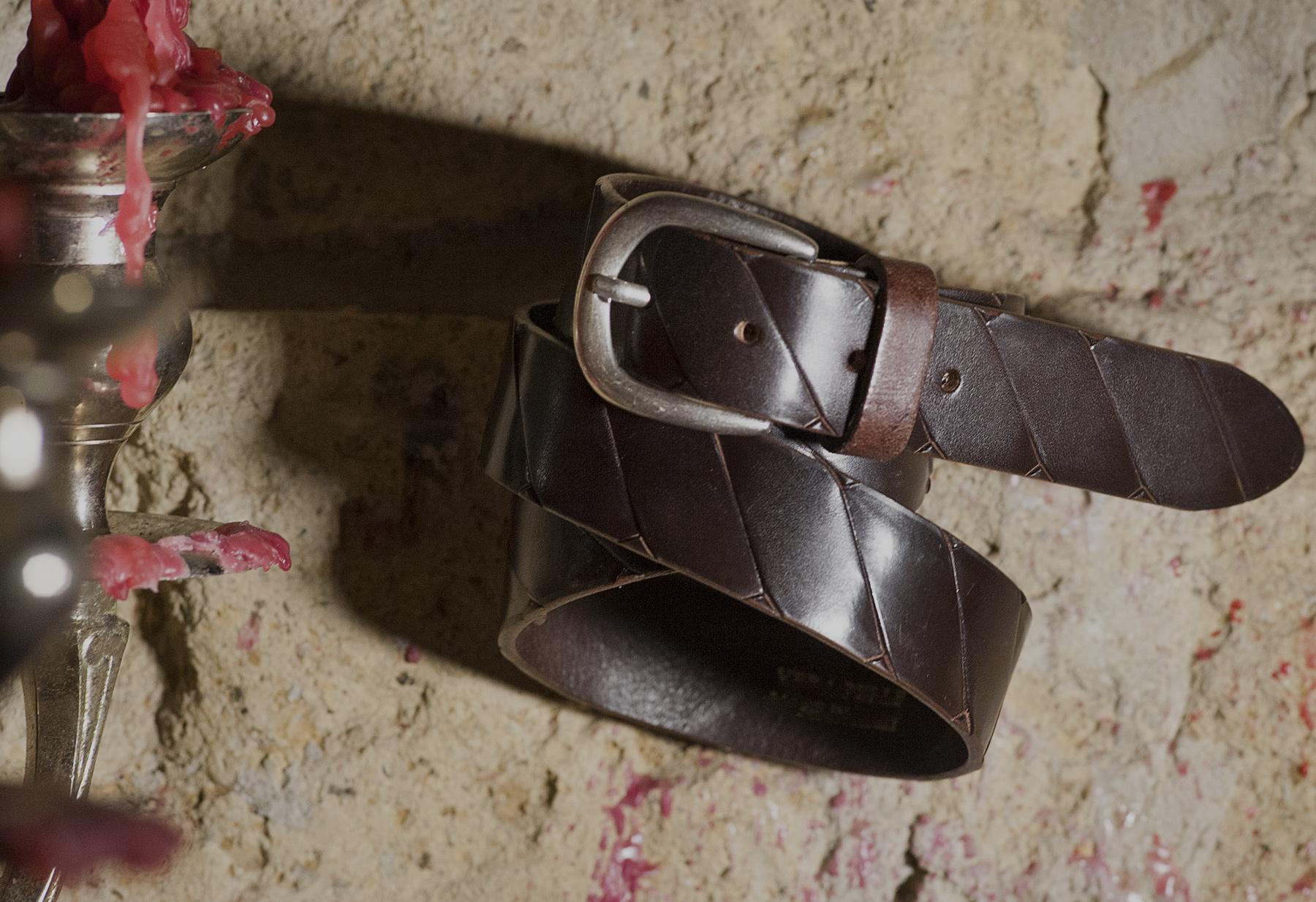 cintura artigianale per uomo