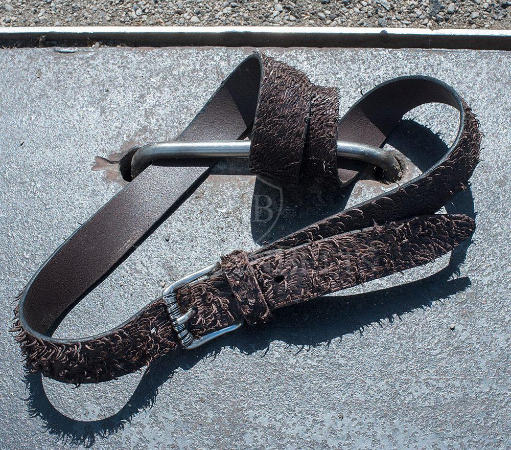 Cintura design uomo