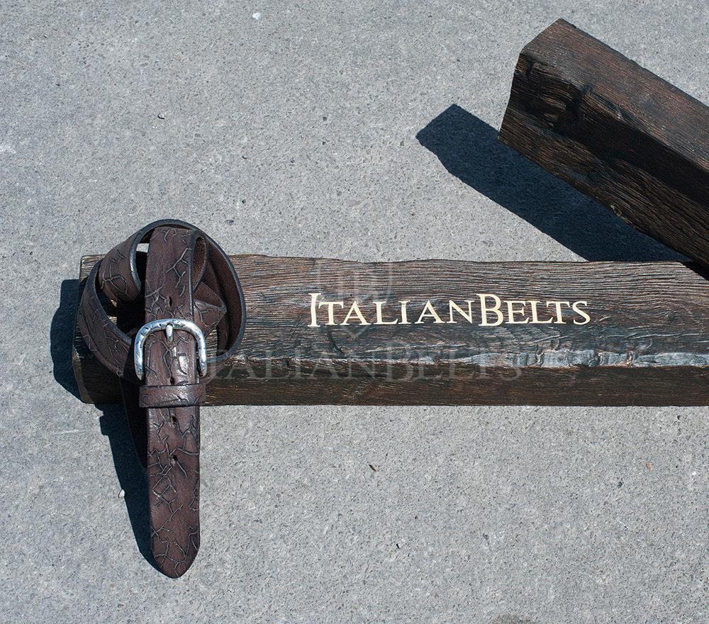 Cintura vintage pelle